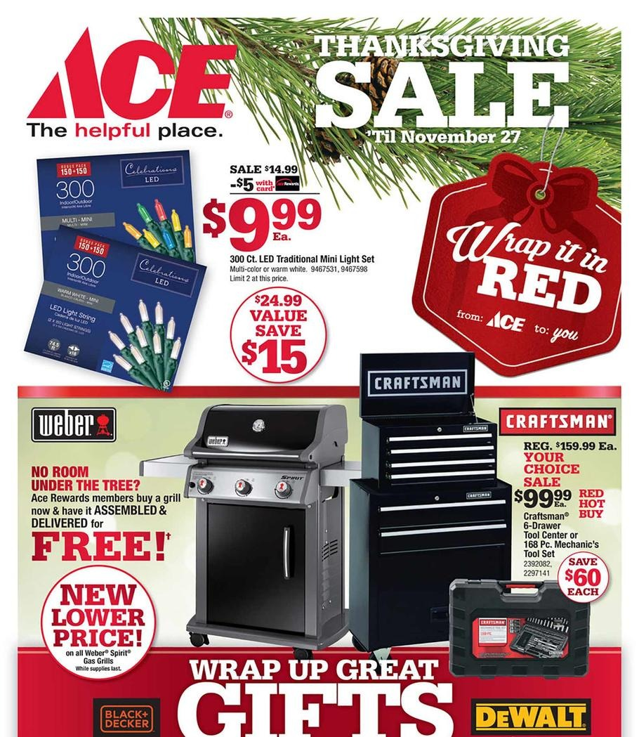Ace Hardware Black Friday page 2